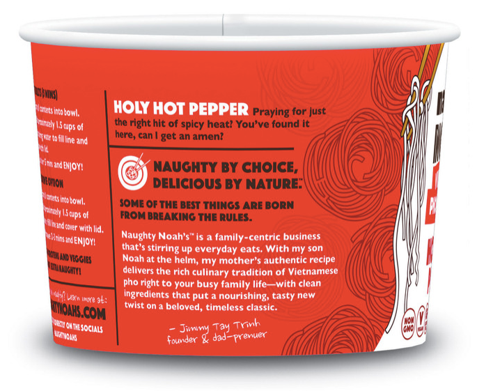Holy Hot Pepper Pho — 6-pack case