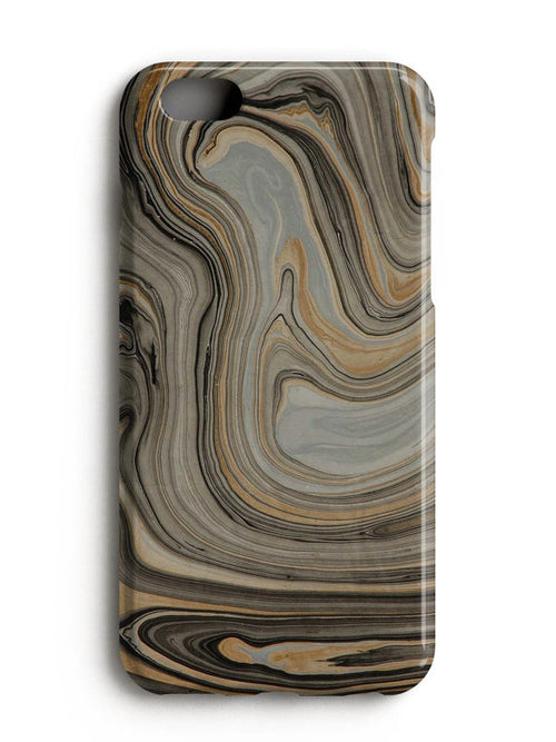 Grey Gold Marble iPhone 7 Case iPhone 8 Case