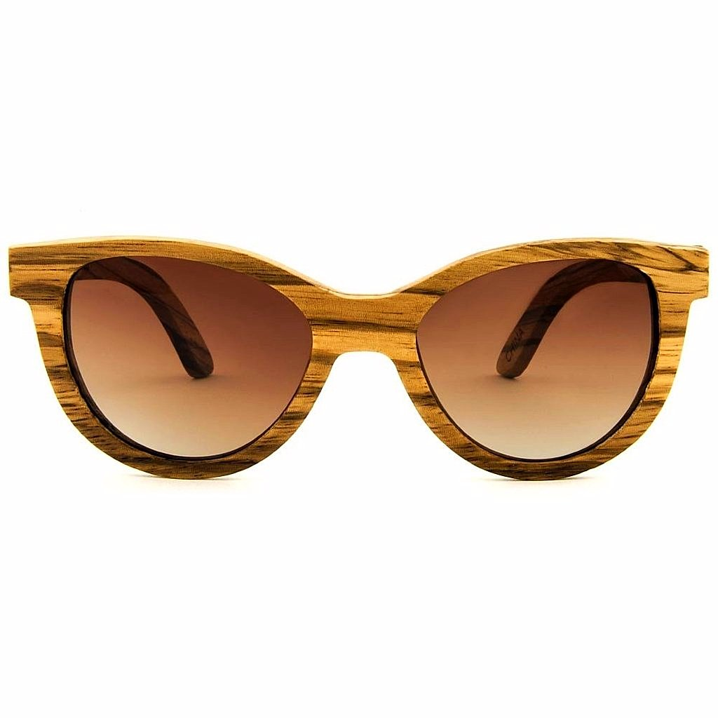Maya Zebrawood Women Sunglasses