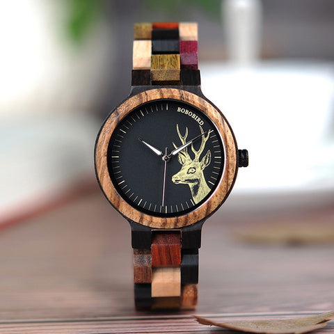 Lovers' Casual Quartz Watches Elk Design