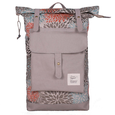 Carmine Canvas Backpack