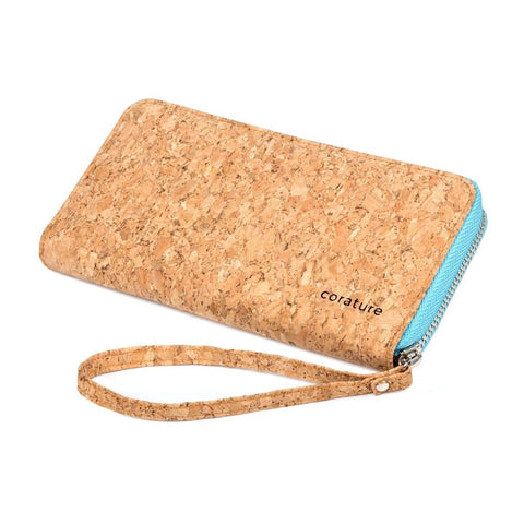 natural eco friendly cork wallet for women
