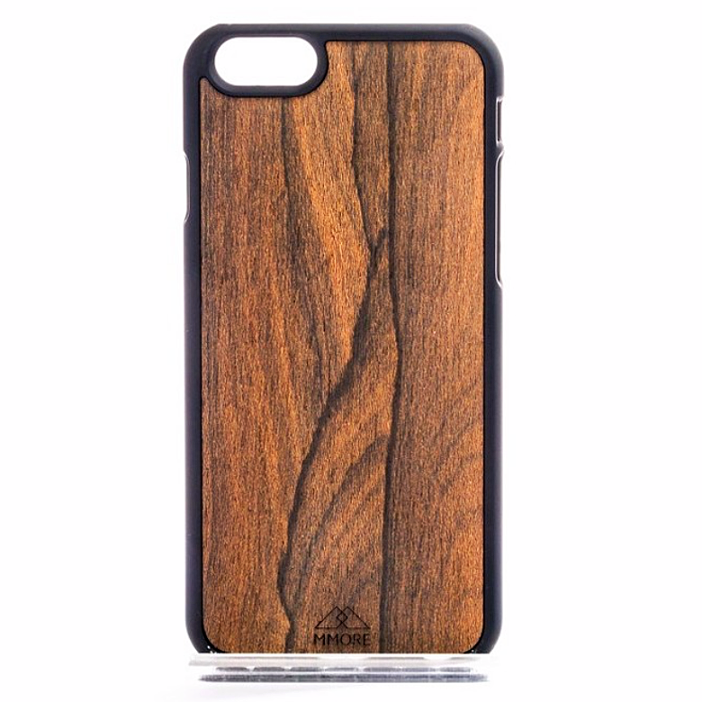 Wood Ziricote Mobile Phone case