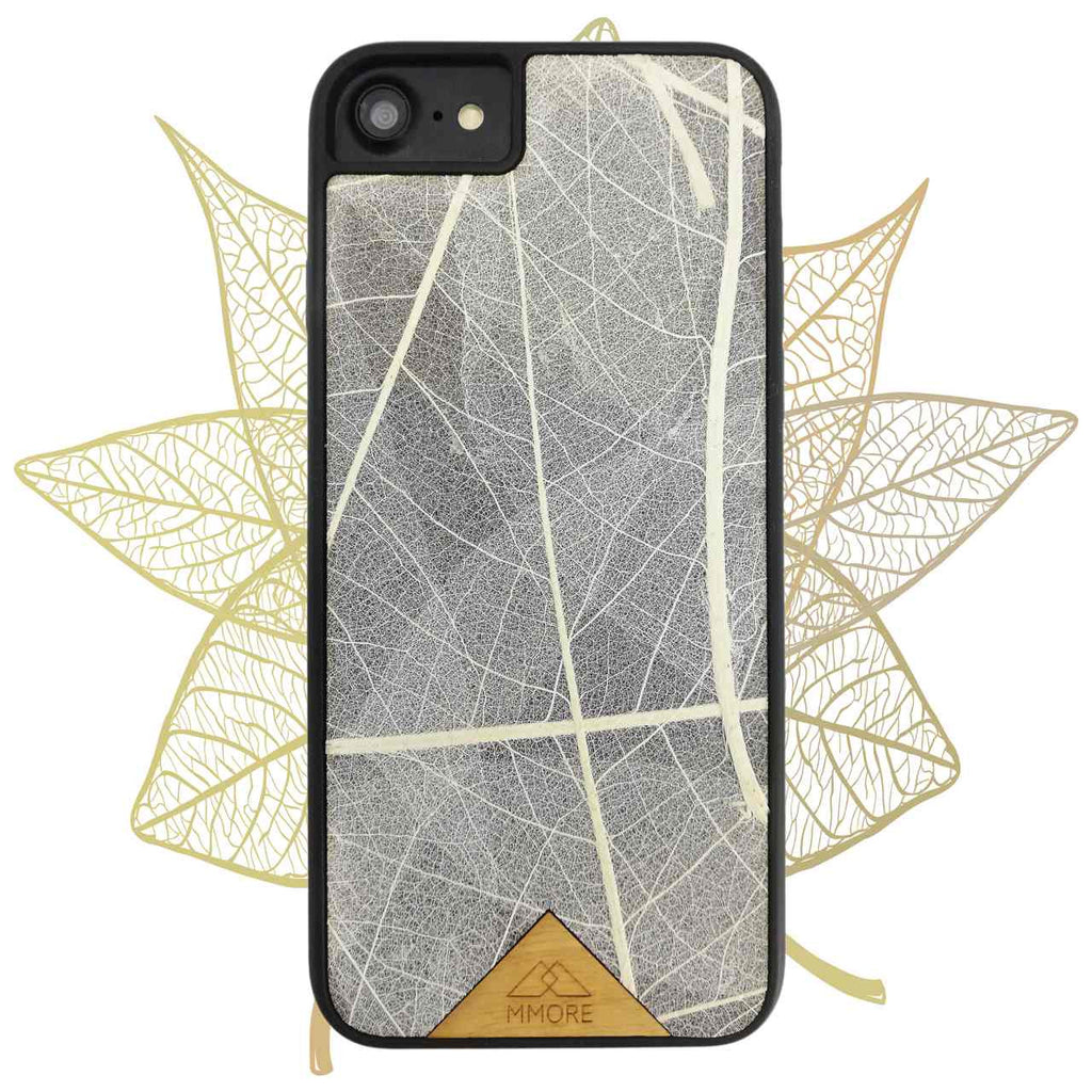 SKELETON LEAVES ORGANIC PHONE CASE
