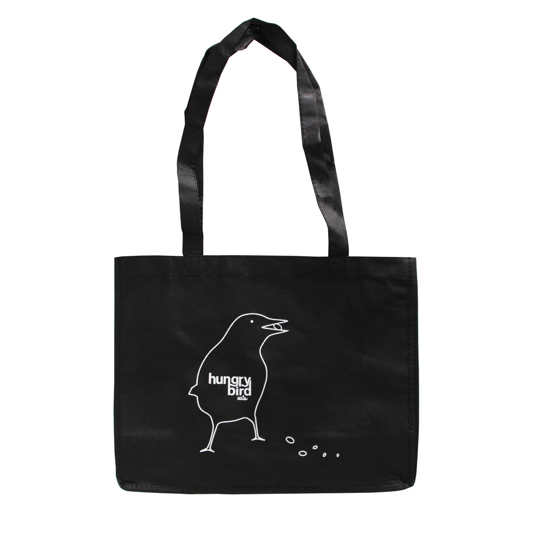 HUNGRY BIRD TOTE BAG