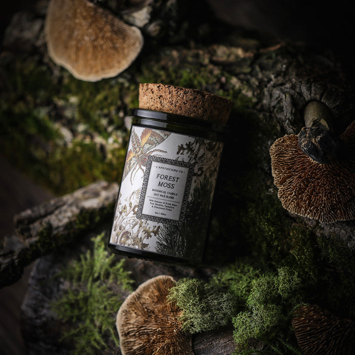 Forest Moss // Botanical Candle