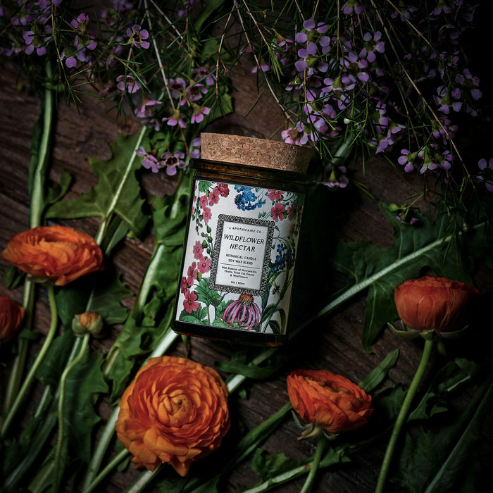 Wildflower Nectar // Botanical Candle