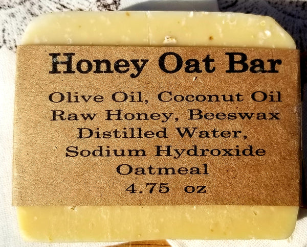 Oatmeal/Honey Hand Made Soap