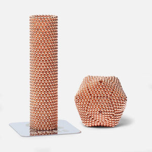 Speks 1000 - Luxe 2.5mm Magnet Balls Rose Gold