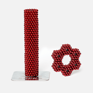 Speks 512 - Classic 2.5mm Magnet Balls Red
