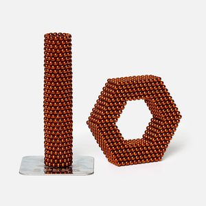 Speks 1000 - Classic 2.5mm Magnet Balls Orange