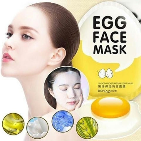 Egg Facial Masks - myfunkysole