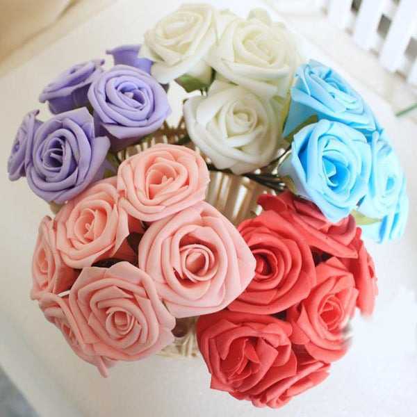 Artificial Rose Flowers - myfunkysole