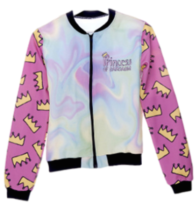 3D Princess Crown Jacket - myfunkysole