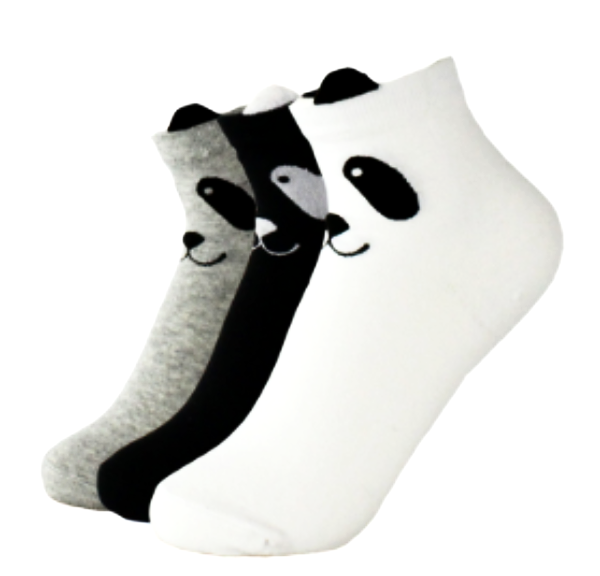 Panda korean socks - myfunkysole