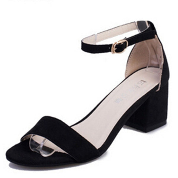 Think Mid Heel Dress Sandals - myfunkysole