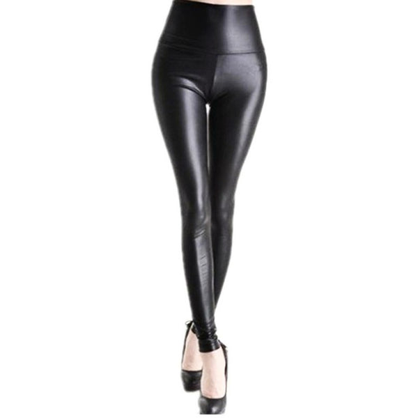 faux leather leggings - myfunkysole