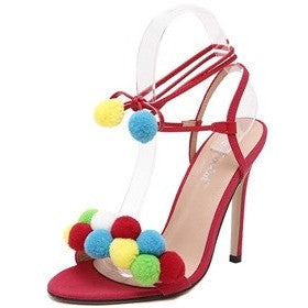 Colorful ball High Heels Sandals - myfunkysole