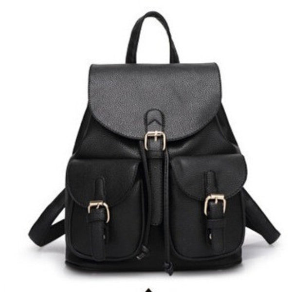 Candy Color leather backpack - myfunkysole