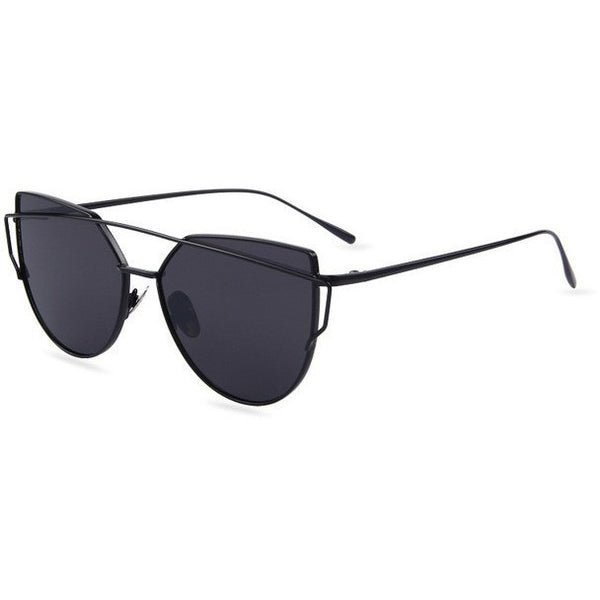 Flat lense cat eye sunglasses - myfunkysole