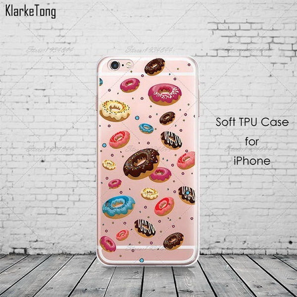 Rainbow Food Donuts CASE - myfunkysole