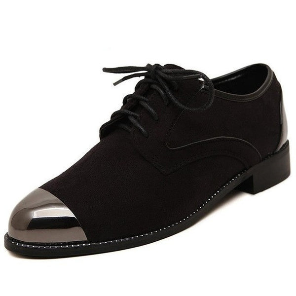 suede Oxford shoes - myfunkysole
