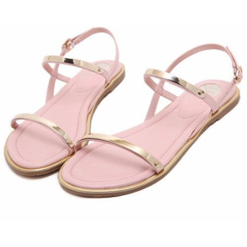 String Crystal sandals - myfunkysole