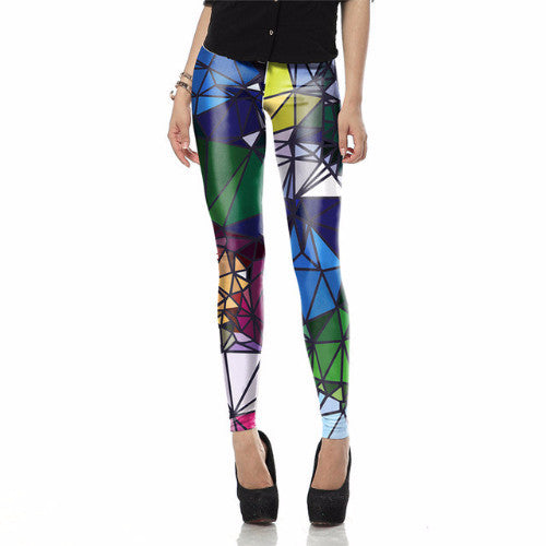Geometric Boho leggings - myfunkysole