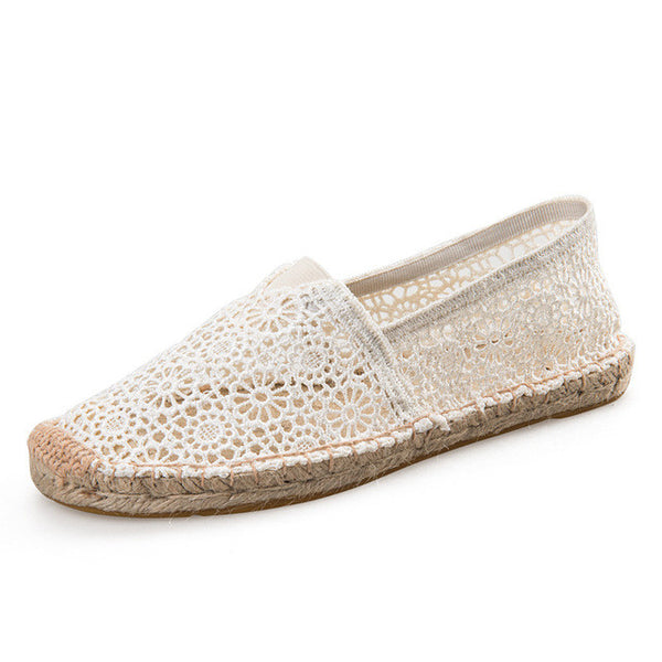 Breathable Lace Flats - myfunkysole