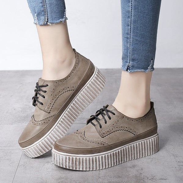 Lace Up Creepers - myfunkysole