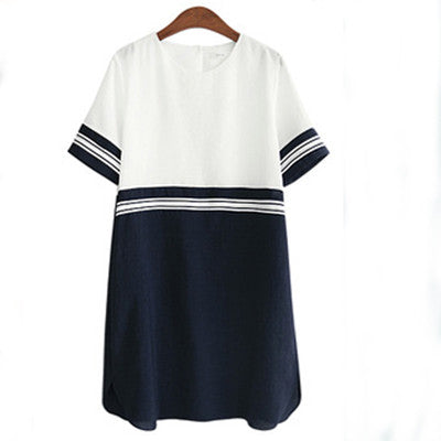 Marine Tunic Dress - myfunkysole