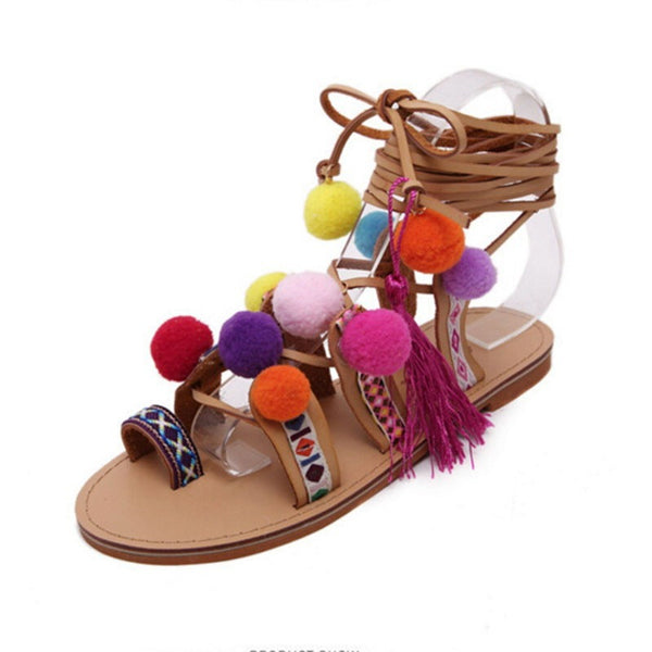 Bohemian Up Open Toe Sandals - myfunkysole