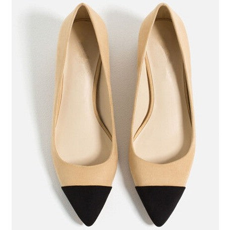 Khaki Shoes Pointed Toe - myfunkysole