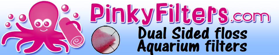 Pinky Filter Dual Sided Floss Aquarium Filters