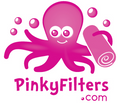 "Pinky Filters 12"" x 12 Feet Total"