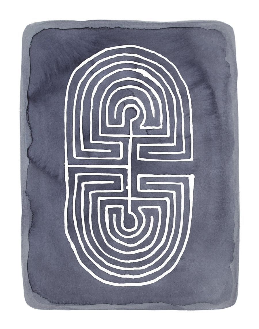 Balance Labyrinth, Limited Edition Print - Michelle Owenby Design