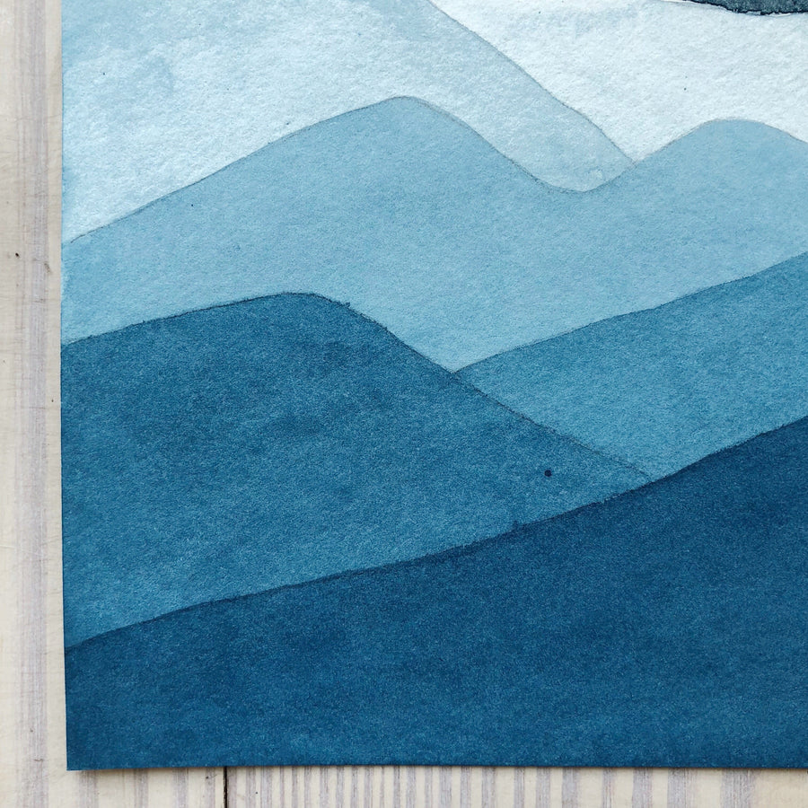 Blue Ridge Blues - Michelle Owenby Design