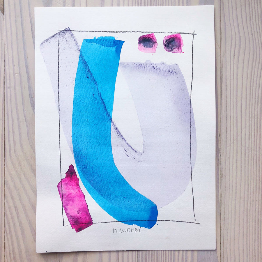 Deliver-Watercolor Print - Michelle Owenby Design