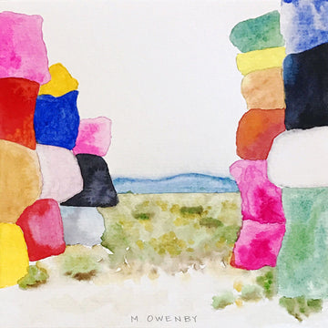 Gateway-Watercolor Print - Michelle Owenby Design