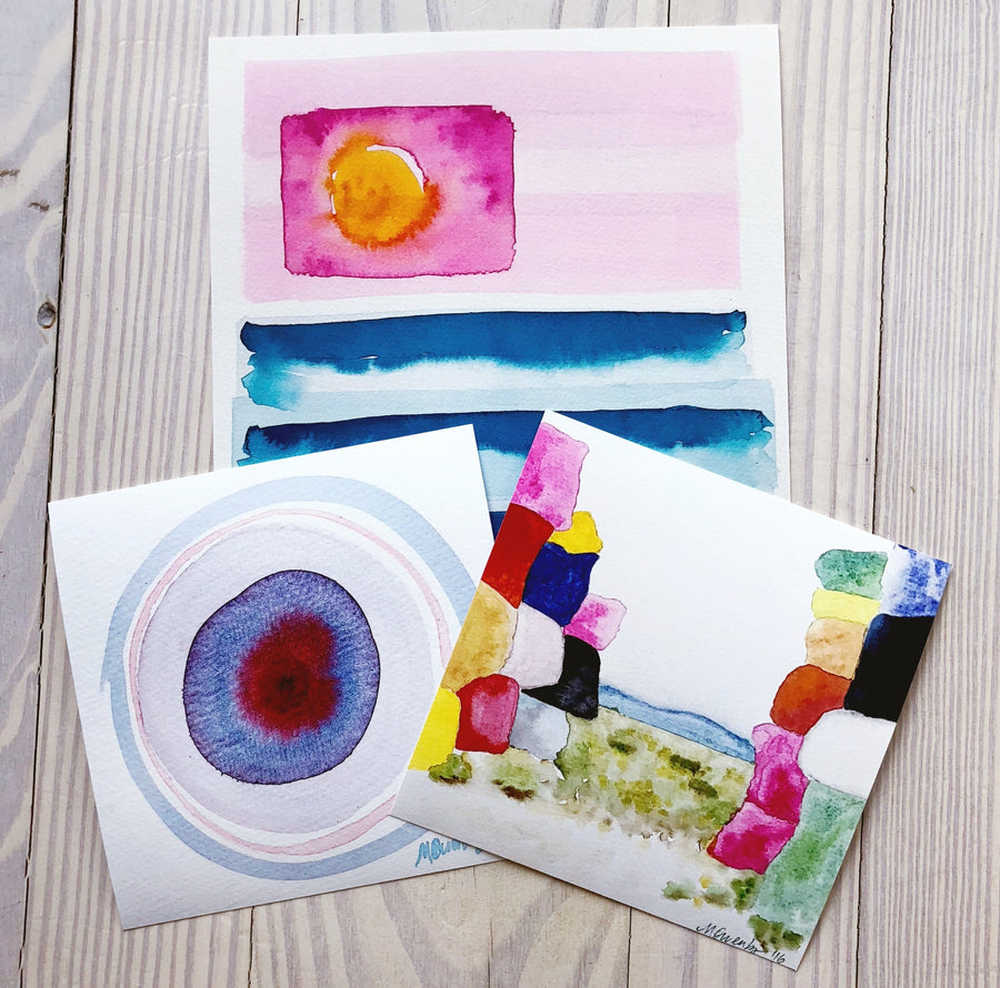 Ocular 3-Watercolor Print - Michelle Owenby Design