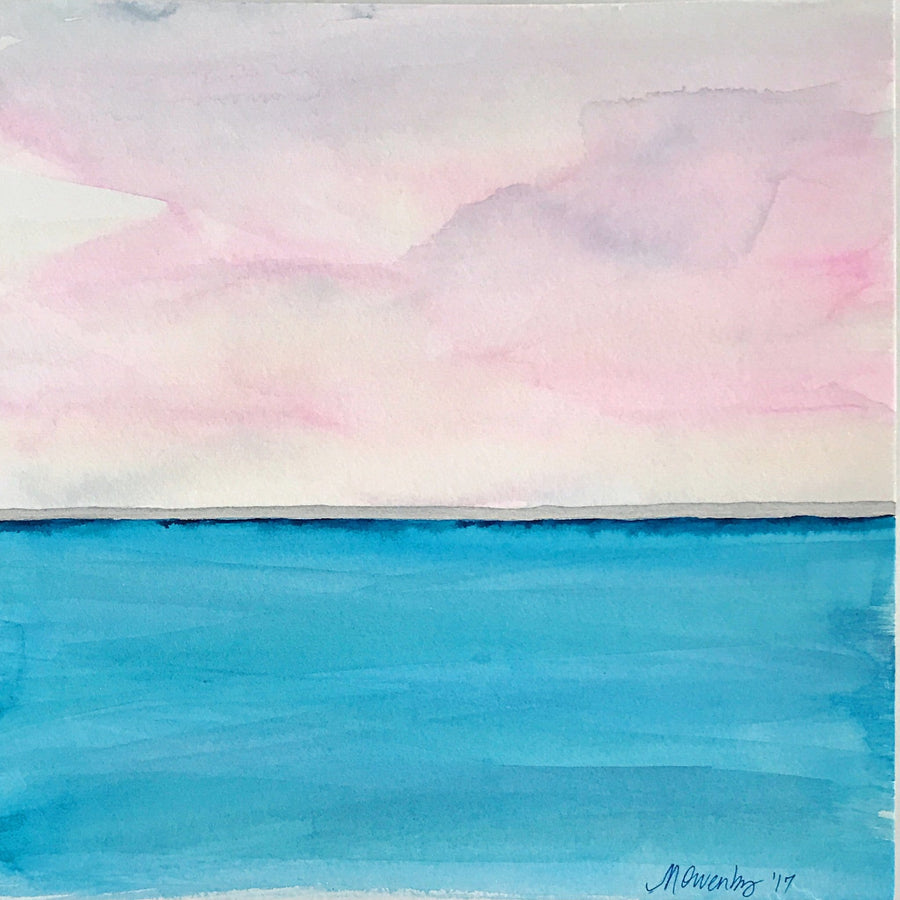 Pink Horizon - Michelle Owenby Design
