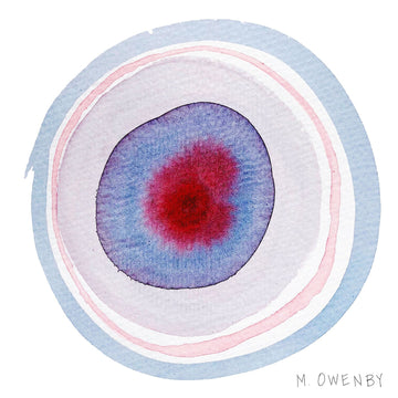 Ocular 1-Watercolor Print - Michelle Owenby Design