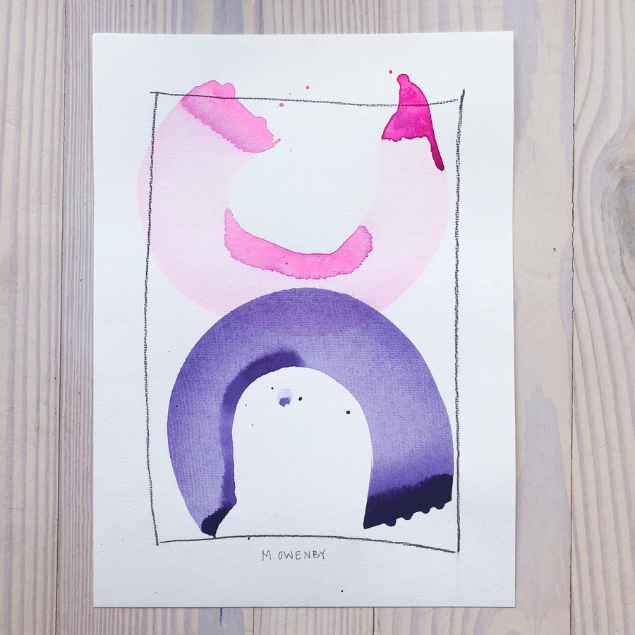 Release-Watercolor Print - Michelle Owenby Design