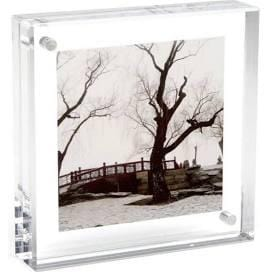 Clear Acrylic Magnetic Table Frame - Michelle Owenby Design