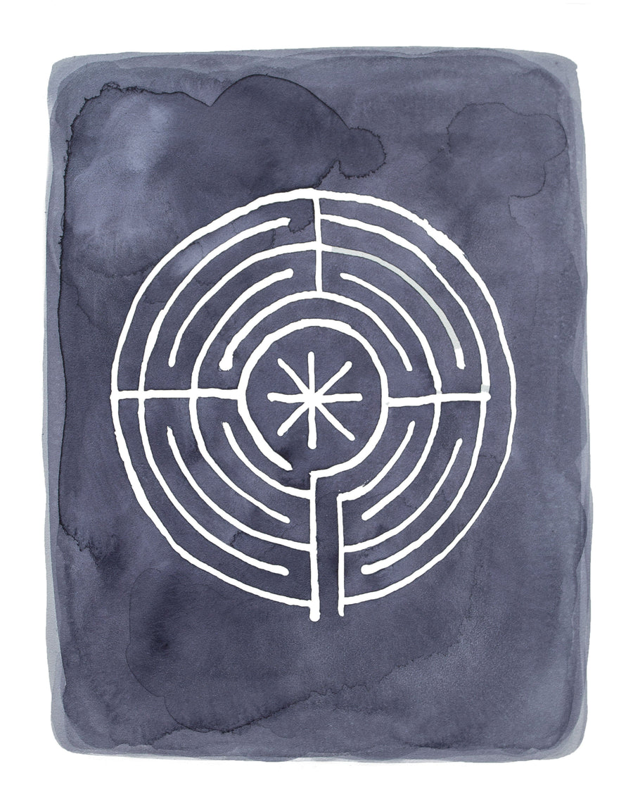 Star Labyrinth, Limited Edition Print - Michelle Owenby Design