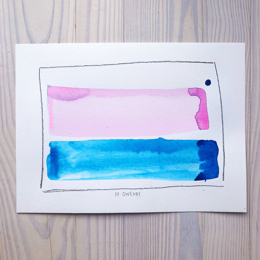 Transfer-Watercolor Print - Michelle Owenby Design