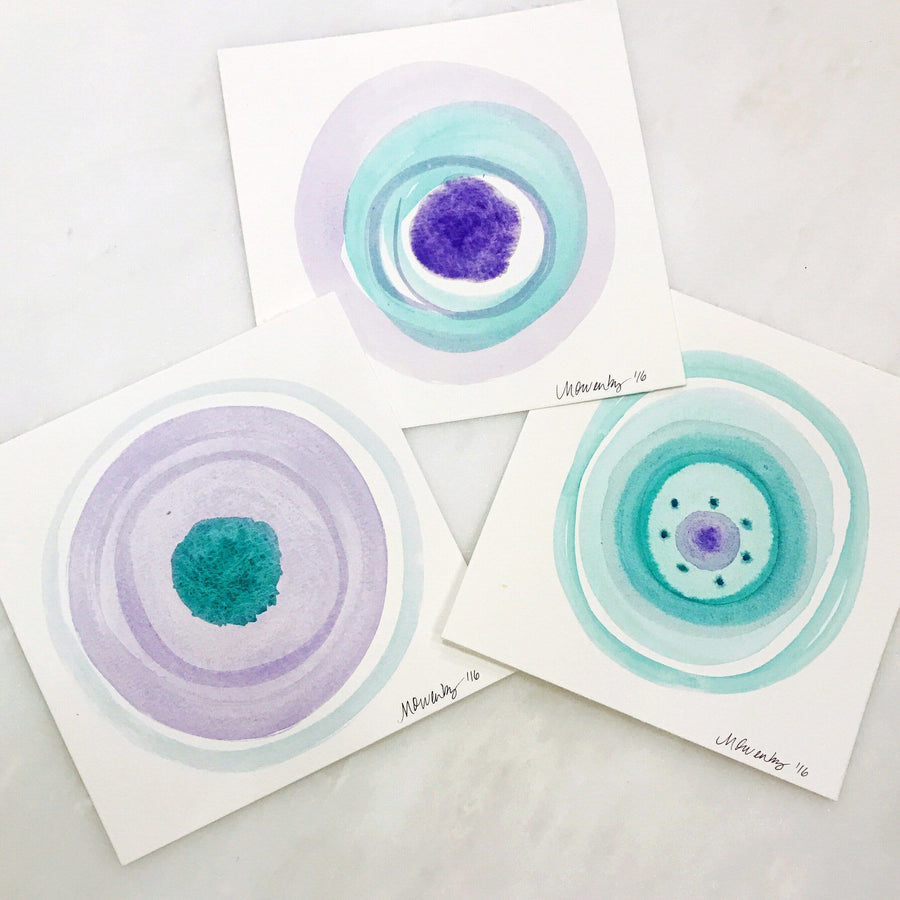 Ocular Trio, Series #3 - Michelle Owenby Design