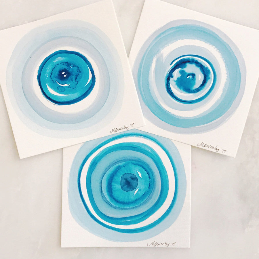 Ocular Trio, Series #4 - Michelle Owenby Design