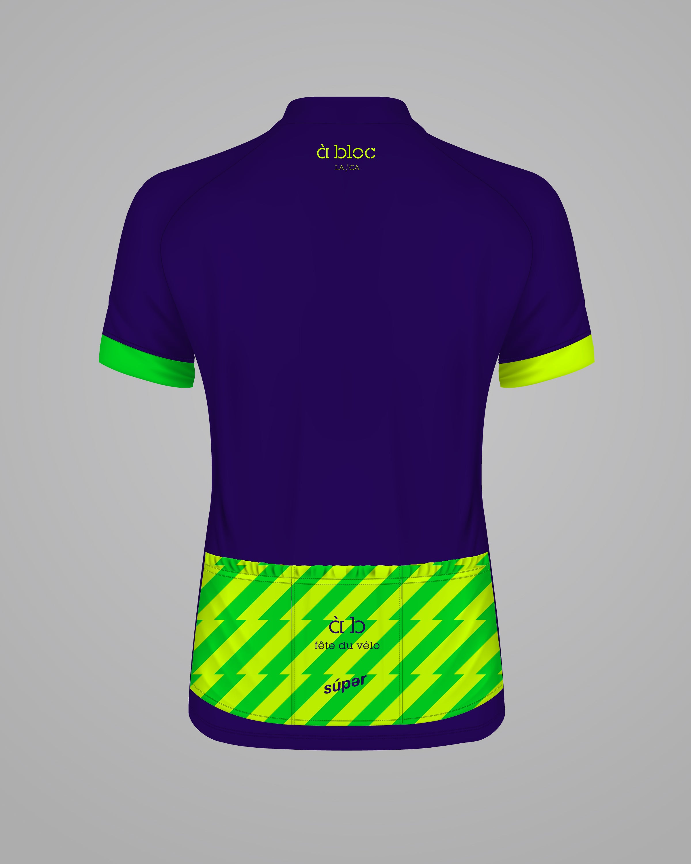 À BLOC - FÊTE DU VÉLO - Limited Edition Unisex Cycling Jersey -  SOLD OUT
