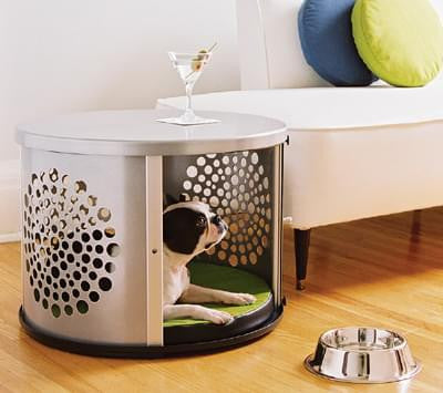 DenHaus Modern Dog Crate Furniture